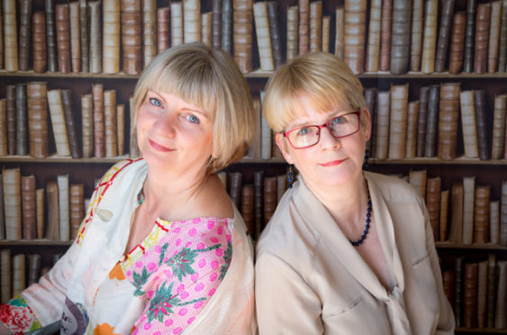 Clare Cooper and Olivia Robertson run Vanora's Cottages in Alyth.