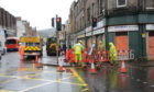 Workers were forced to cut power to dozens of businesses in Perth city centre.