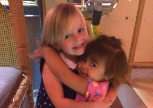 Darci (left) and Jasmine
