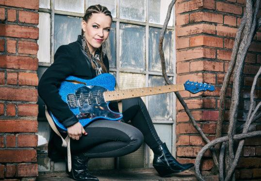 'Finnish slide goddess' Erja Lyytinen to play in Kinross