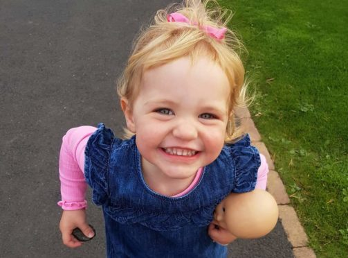 Megan Clarkson, 2, died just three weeks after her diagnosis with cancer