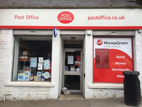 Forfar Post Office in East High Street.
