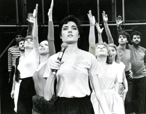 Before Eastenders, actor Janet Dibley took her first professional role in Godspell at Perth Theatre in 1981.