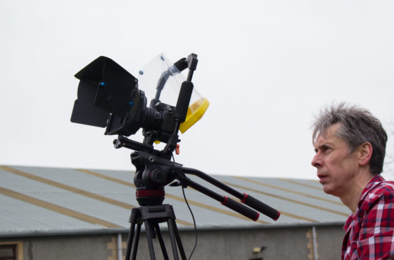 Haston McLaren behind the camera making A Life in August
