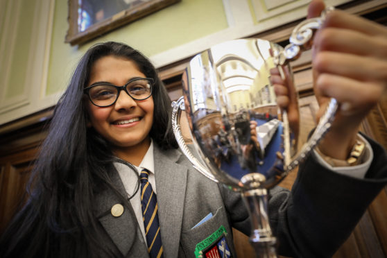 The winner was announced at a ceremony hosted by Lord Provost Ian Borthwick.