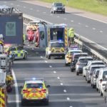 M90 crash: Witness says he saw car driving into oncoming traffic moments before accident
