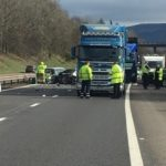 M90 reopens after multi-vehicle crash on motorway