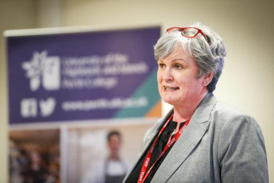 Dr Margaret Cook, Principal of Perth College