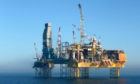 The Elgin platform owned by French energy company Total.