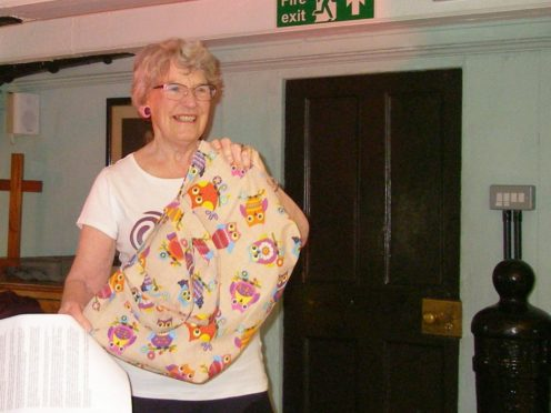 Prue Watson, Dundee Women's Festival chairwoman, at this year's festival.