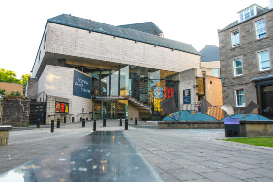 The new toilet policy at Dundee Rep has caused a stir online.