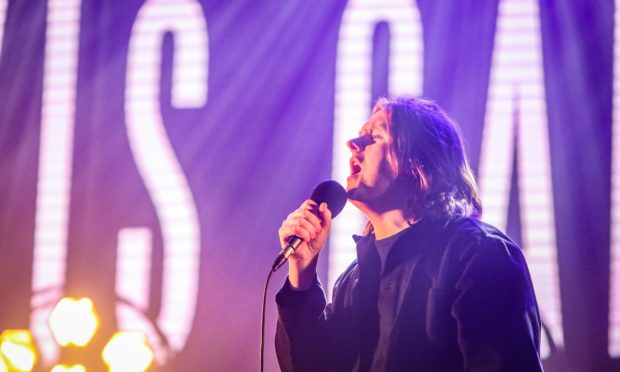 Lewis Capaldi   performs at the 3D Festival in Slessor Gardens.