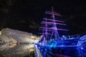 Courier News - Dundee - Communications Dept  - Night in the Museum - CR0005908 - Dundee - Picture Shows: External pics of V&A Museum and the Ship Discovery as DC Thomson staff enjoy a special Night in the Museum at the V & A in Dundee - Wednesday 6th February 2019 - Steve Brown / DCT Media