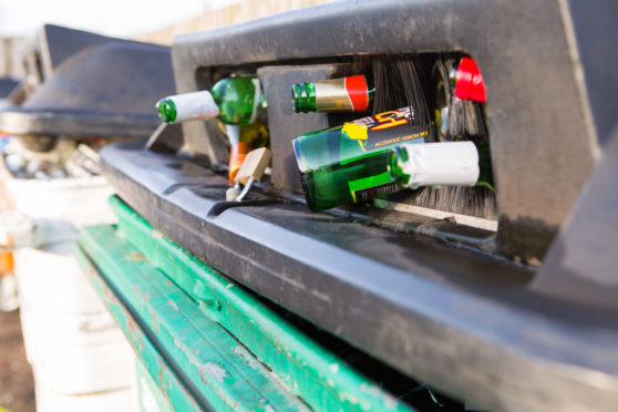Fifers will have to keep going to the bottle bank to dispose of glass