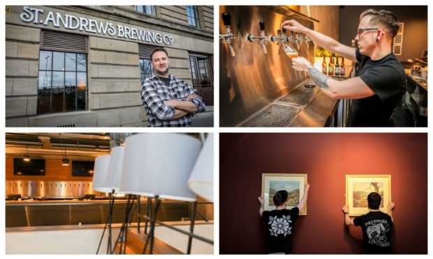 First look inside St Andrews Brewing Company, Caird Hall.