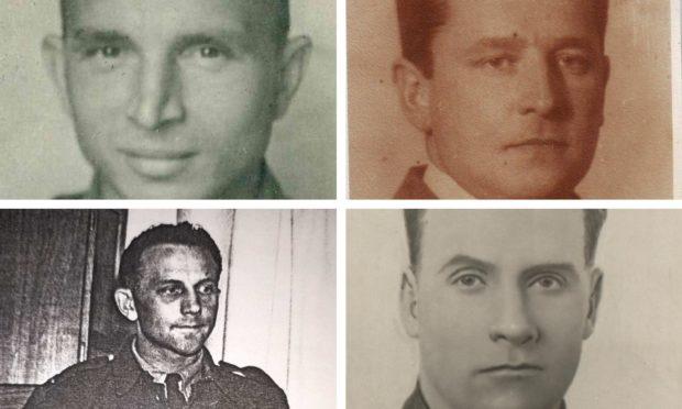 The Fearnan air-crash victims.