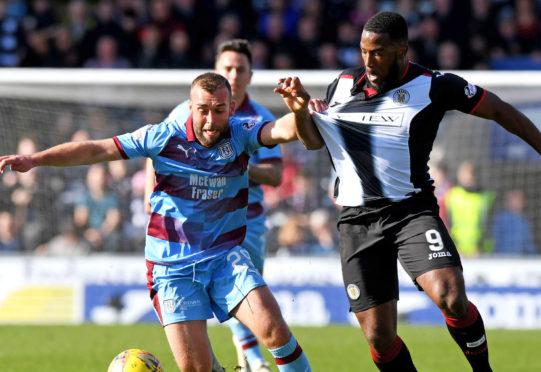 James Horsfield in action.