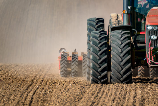 Farmers have been advised to take extra precautions when securing vehicles, machinery and property.