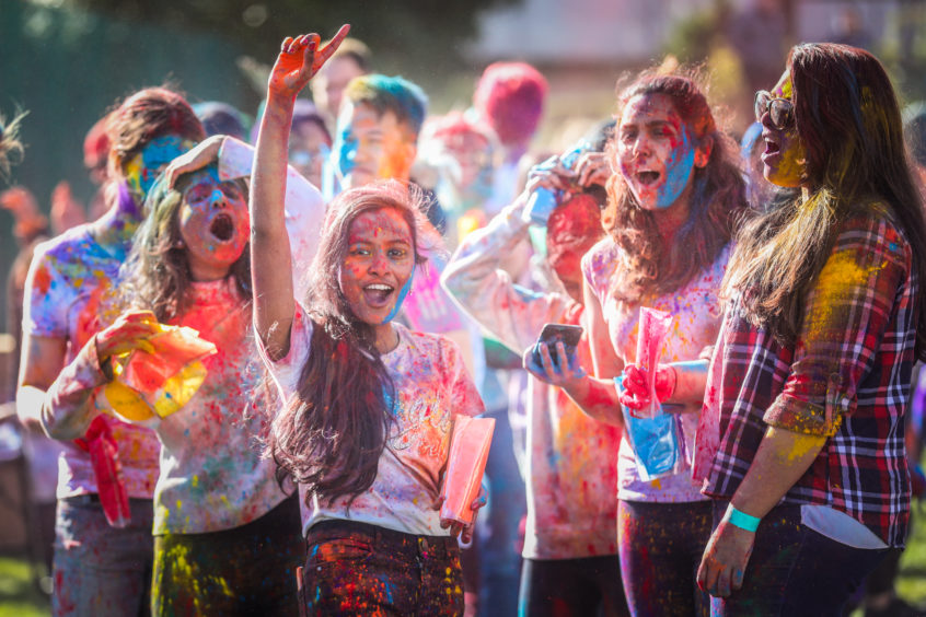 Holi, which signifies the triumph of good over evil, correlating with the passing of winter, usually takes place later in March in India.