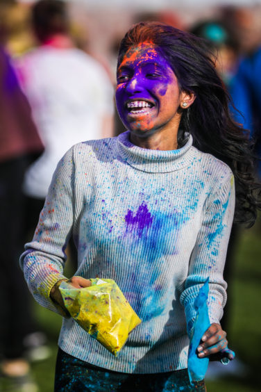 University of Dundee students are getting ready to colour their campus as they celebrate Holi, the Hindu festival of colours.