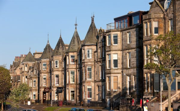 The Scores in St Andrews is one of Scotland's most expensive streets, with an average price of over £1 million