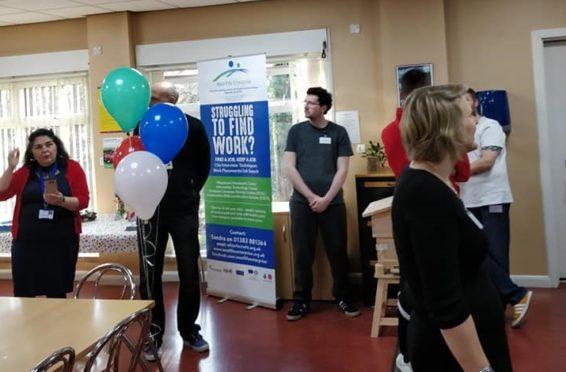 A recent training event at West Fife Enterprise