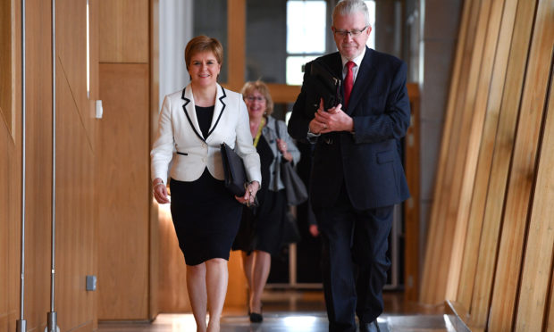 Sturgeon wants another Scottish independence vote by 2021