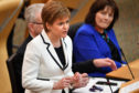 "Nicola Sturgeon said she expects the interim report will be published ""imminently""."