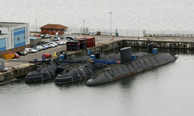submarines at Rosyth