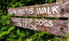 Lady Mary's Walk, Crieff.