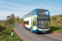 Stagecoach has invested in electric-hybrid double decker buses in a bid to reduce emissions.
