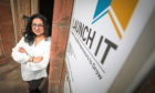 Shabana Basheer, enterprise manager of Launch It Dundee.