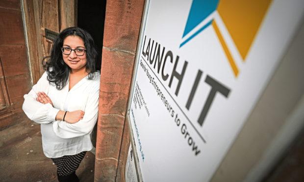 Shabana Basheer, enterprise manager of Launch It Dundee.