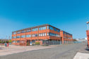 The Forbo Flooring factory in Kirkcaldy
