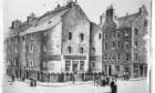 Old Customs House Dundee, Cricthon Street (from People's Journal. John Leng litho).