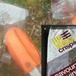 Crisp packet from 1974 found during Perth litter-pick