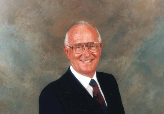Solicitor David Tweedie who has died.