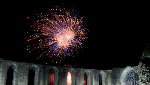 the fireworks festival is just one of the local initiatives which would continue