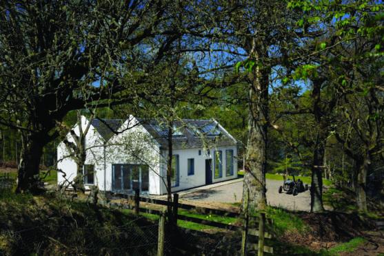 Humpty House in Lintrathen.