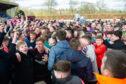 Jubilant scenes as Arbroath are crowned champions