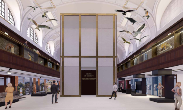 Graphic shows how Perth City Hall could look when it opens in 2021.