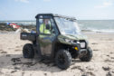 The Can-Am-Traxter on Easthaven beach