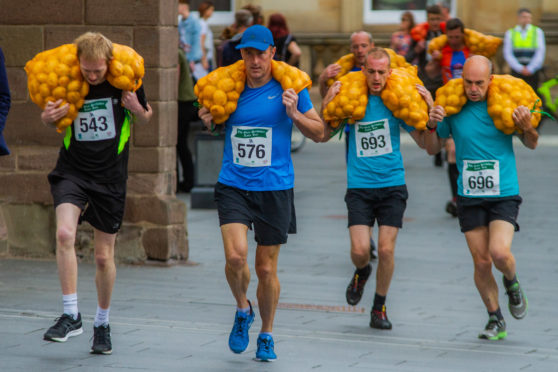 The Tattie Race will be back in Perth on August 10.