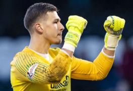 Dundee United boss Robbie Neilson praises keeper for handling big-club pressure