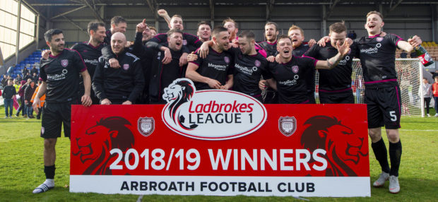 Arbroath are champions
