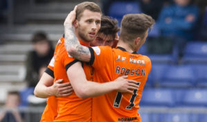 Dundee United's Pavol Safranko looking to build momentum before play-offs