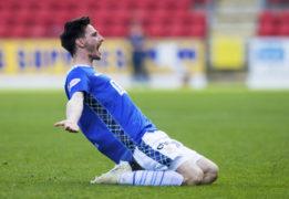 St Johnstone's Scott Tanser bent it like Beckham to down Dundee