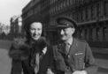 Joseph and Mary Gray om their wedding day,September 30, 1943