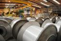 Inside the Scott and Fyfe factory in Tayport.