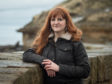 Morna Young at Burghead harbour